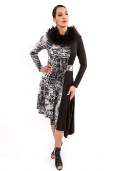 VIXEN NOIR - French Viscose Dress